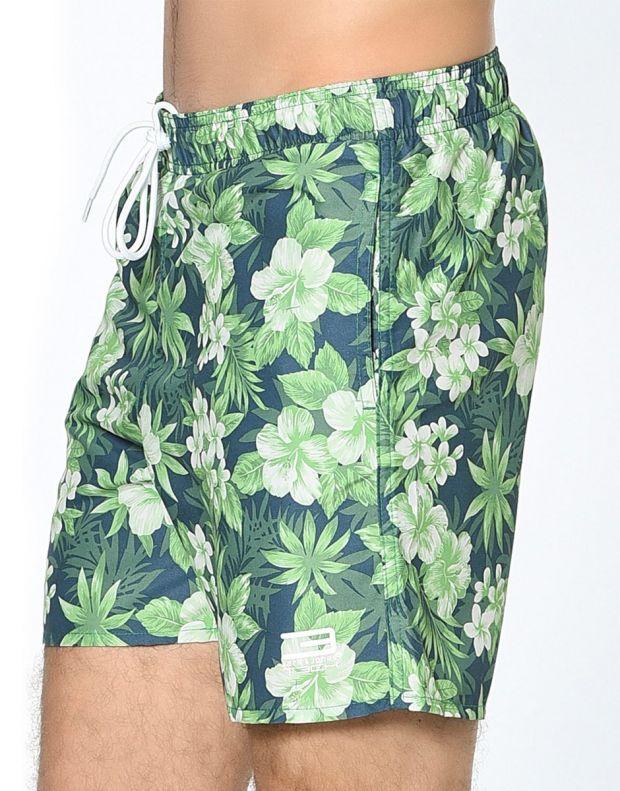 JACK&JONES Tropic Plant Shorts Green - 3
