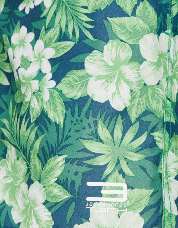 JACK&JONES Tropic Plant Shorts Green - 4