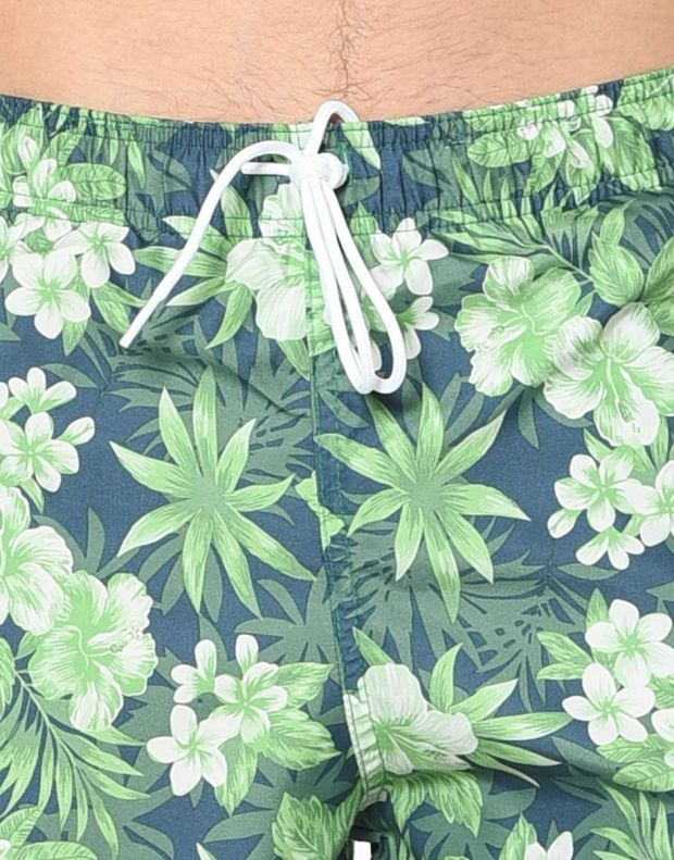 JACK&JONES Tropic Plant Shorts Green - 5