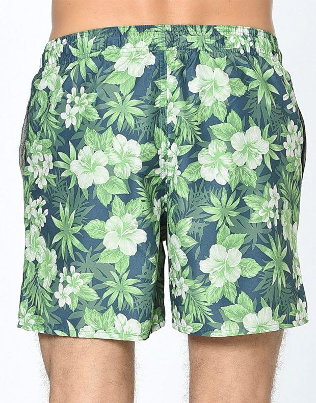 JACK&JONES Tropic Plant Shorts Green - 6