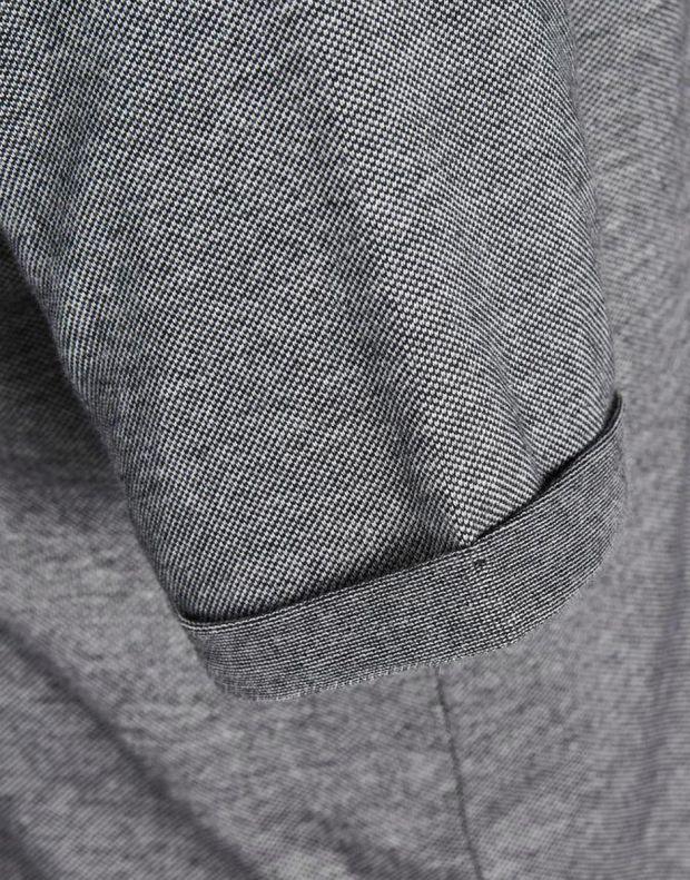 JACK&JONES Casual Cotton Shirt Light Dark Grey - 6