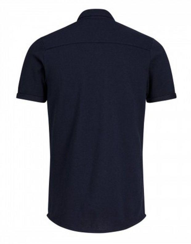 JACK&JONES Casual Cotton Shirt Light Navy - 2