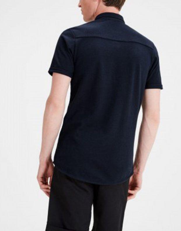 JACK&JONES Casual Cotton Shirt Light Navy - 5