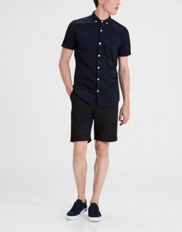 JACK&JONES Casual Cotton Shirt Light Navy - 3