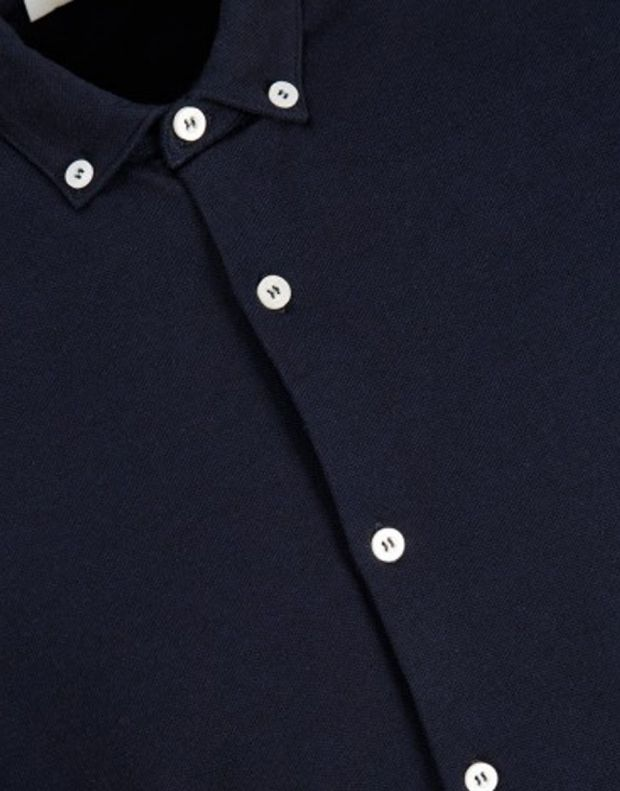 JACK&JONES Casual Cotton Shirt Light Navy - 7