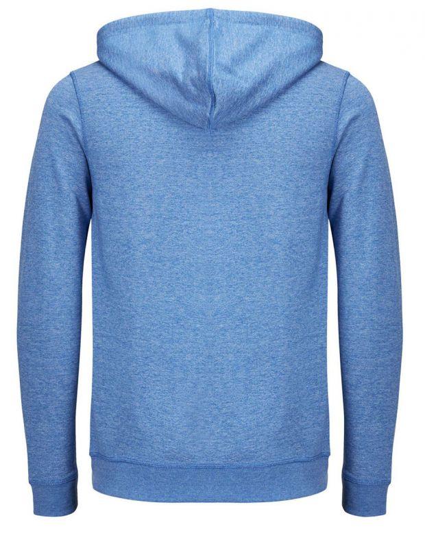 JACK&JONES Recycled Basic Zip Up Sweatshirt Blue - 27820/blue - 6