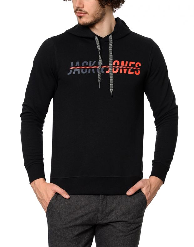 JACK&JONES Print Sweatshirt Black - 3