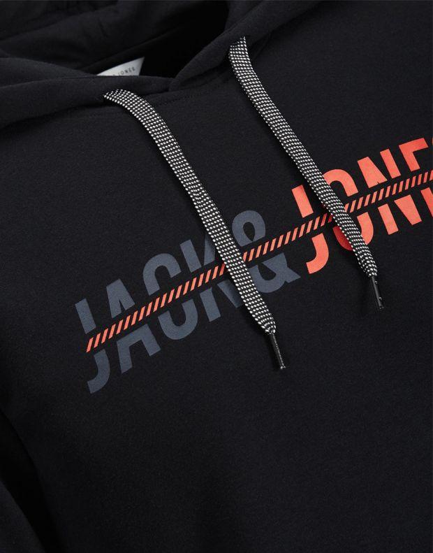 JACK&JONES Print Sweatshirt Black - 7