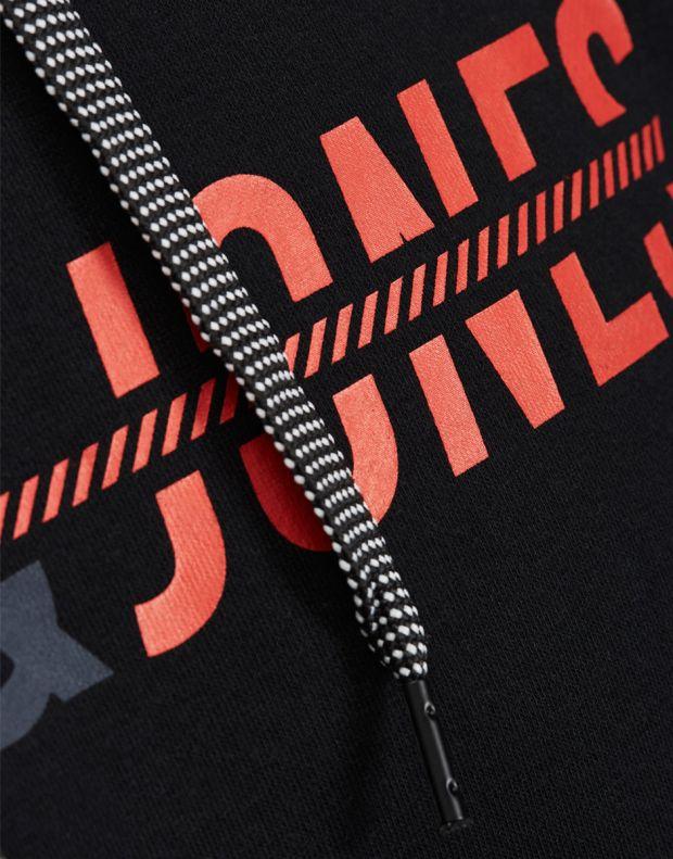JACK&JONES Print Sweatshirt Black - 6