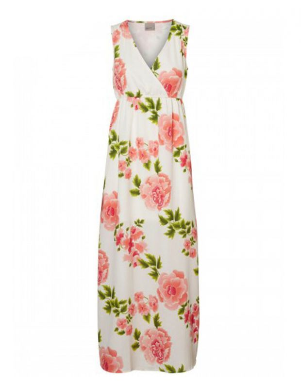 VERO MODA Blomstrete Dress White - 2
