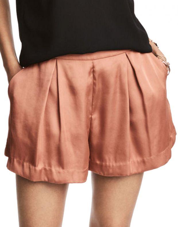 H&M Satin Shorts - 9071/rose - 1