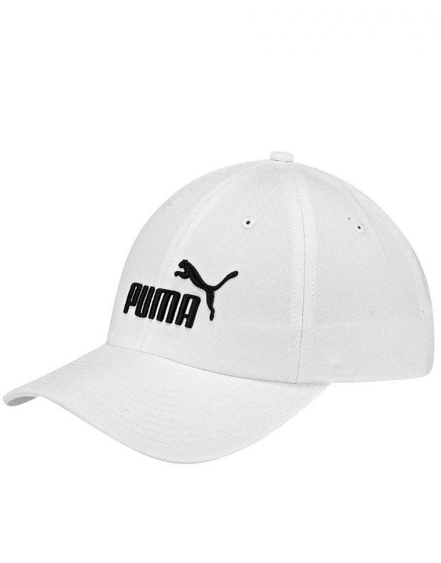 PUMA ESS Cap No1 White - 1