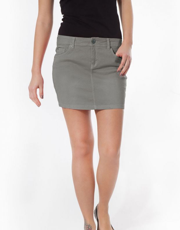 SUBLEVEL Minirock Skirt Grey