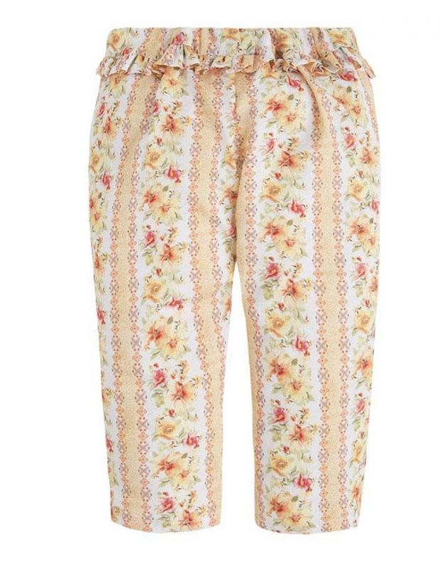 MAYORAL Flower Summer Pant Orange - 1540 - 2