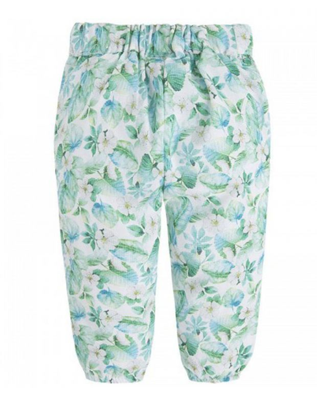MAYORAL Flower Summer Pant Green - 1542 - 2