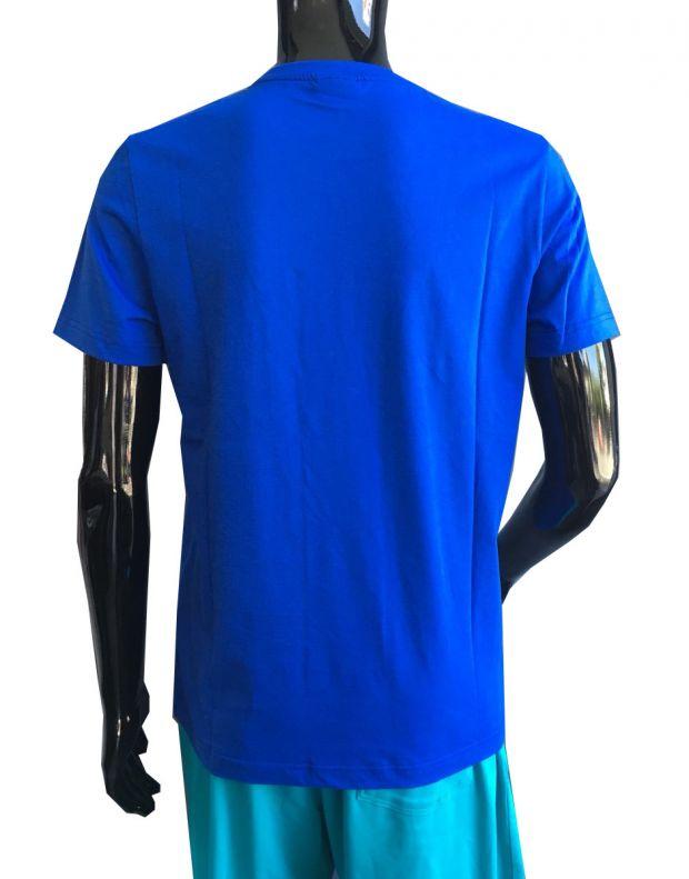 LE COQ SPORTIF Cotton Logo Tee Blue - 2