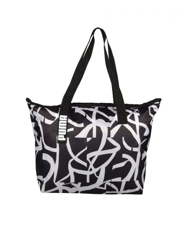 PUMA Core Active Shopper Bag Black - 1