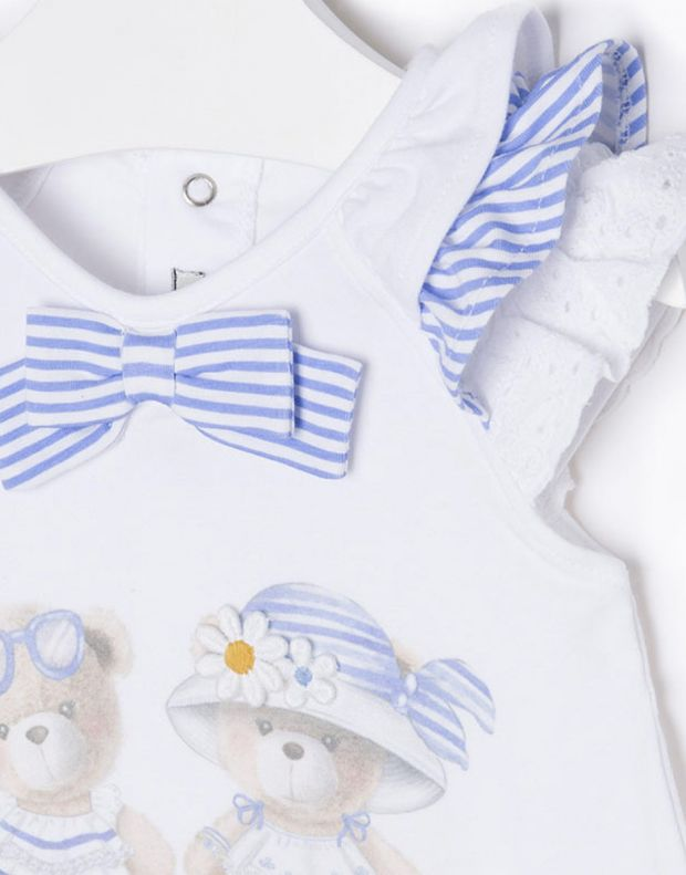 MAYORAL Two Bears Dress Blue - 3