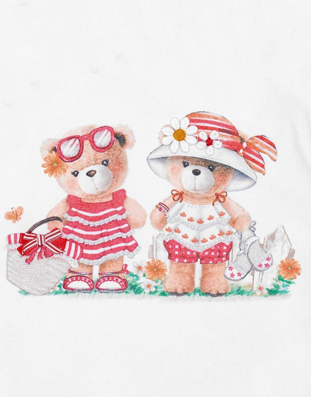 MAYORAL Two Bears Dress Red - 3