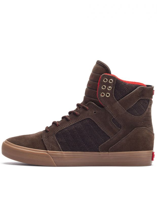 SUPRA Skytop Brown W - 1
