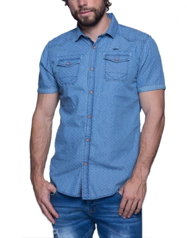MZGZ Coster Shirt Light Blue - Coster/l.blue - 1