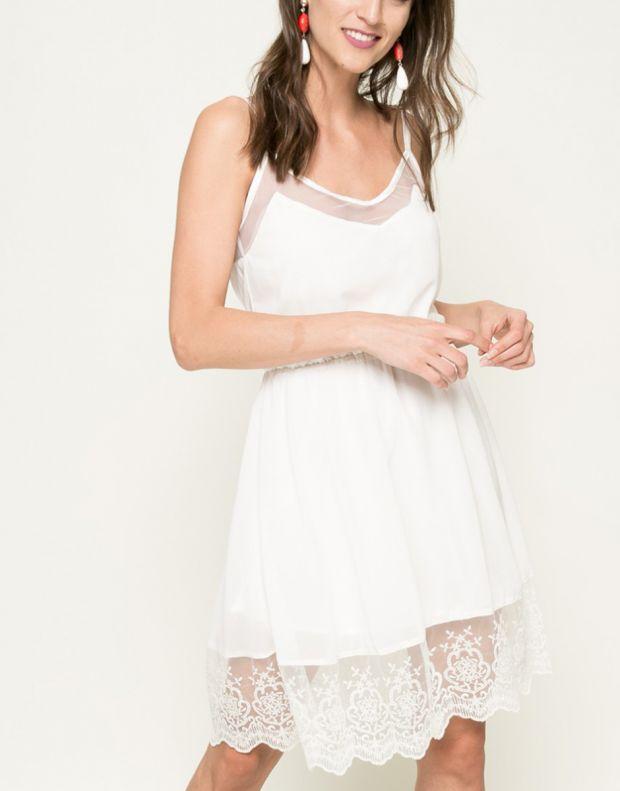 FRESH MADE Sleeveless Dress White - 1