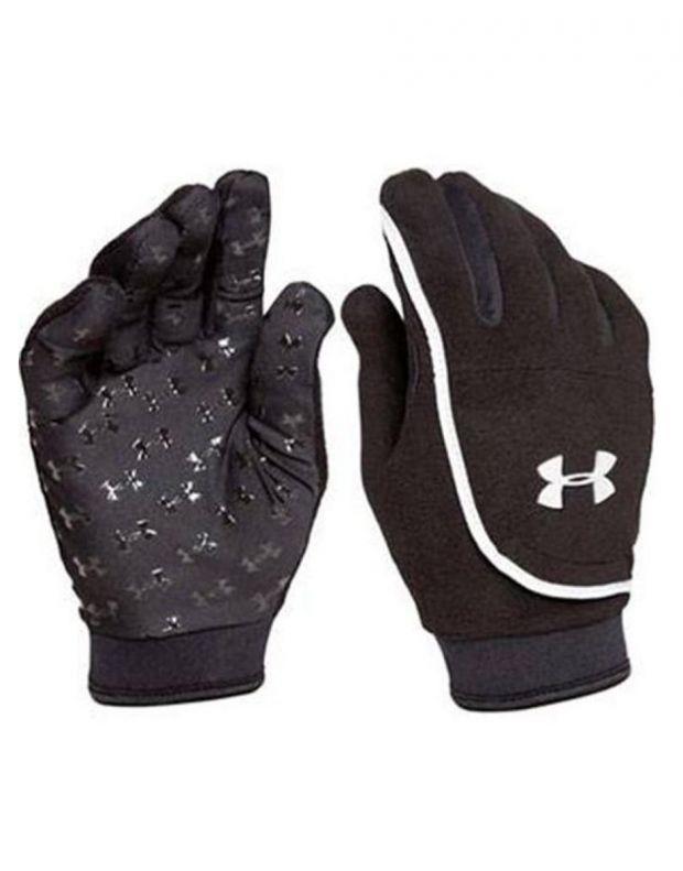 UNDER ARMOUR Youth ColdGear Fleece Gloves - 1