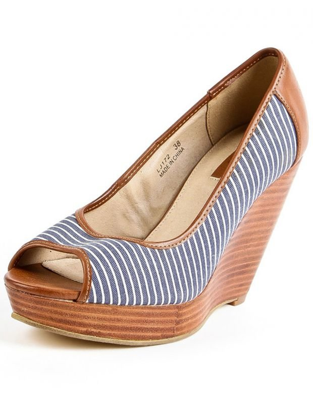 RESERVED Blue Line Wedge - 2