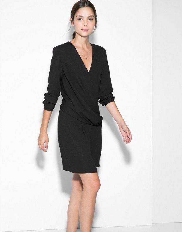 MANGO Wrap Neckline Dress - 3