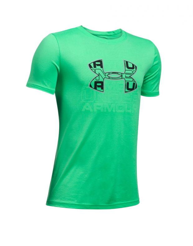 UNDER ARMOUR Infusion Logo Tee Green - 1