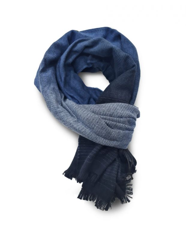 MZGZ Shaded Scarf Blue
