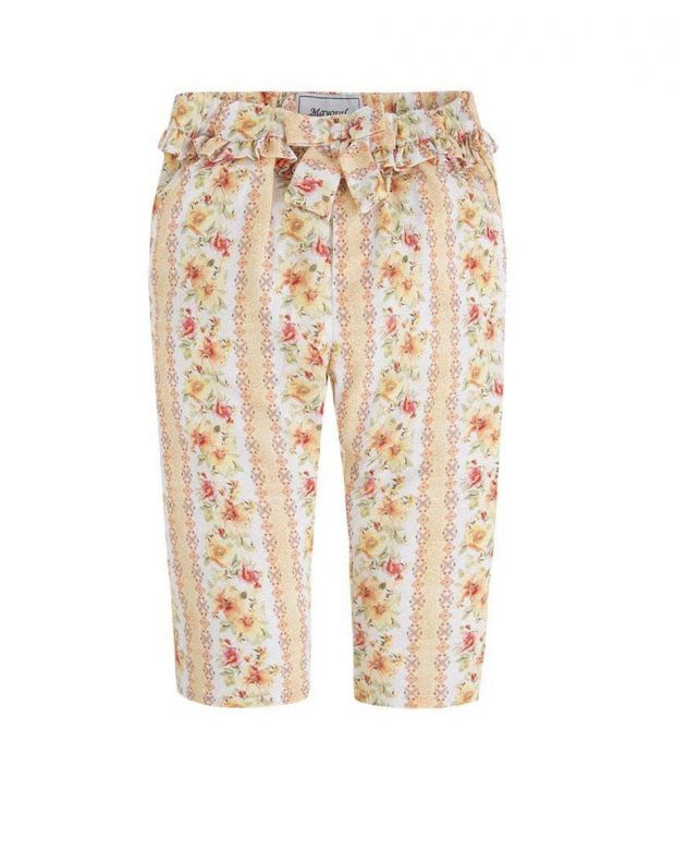 MAYORAL Flower Summer Pant Orange - 1540 - 1