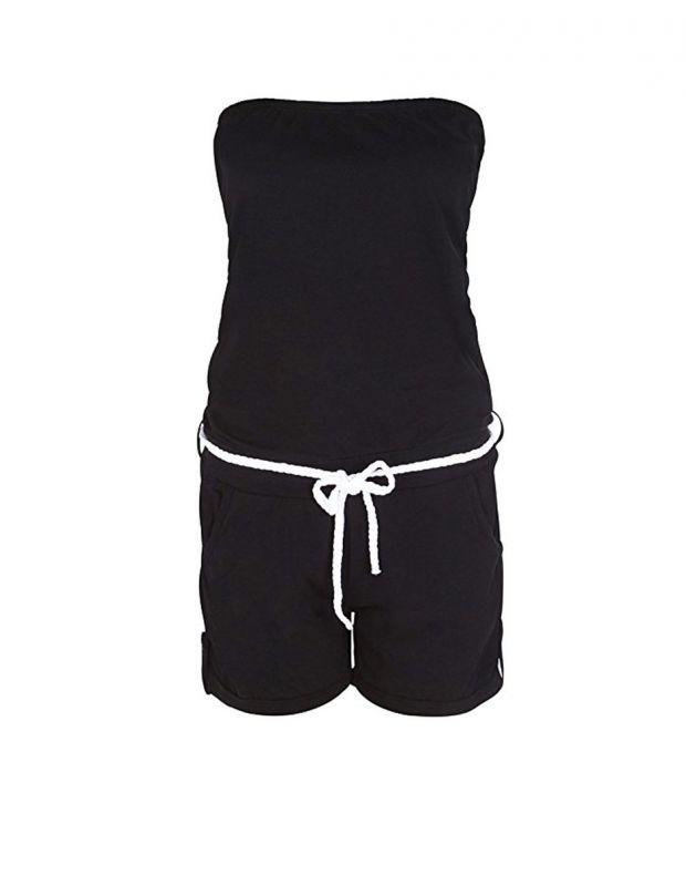 STITCH&SOUL Black Allover Jumpsuit - 1