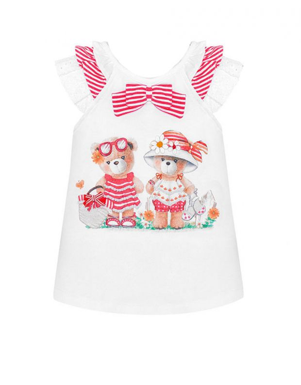 MAYORAL Two Bears Dress Red - 1