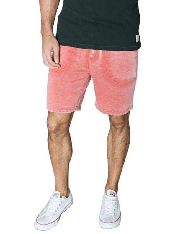 JACK&JONES Vintage Fade Shorts Red - 1