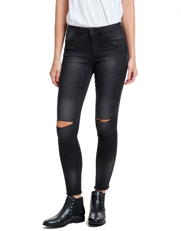 ONLY Royal Reg Ankle Kneecut Skinny Fit Jeans - 1