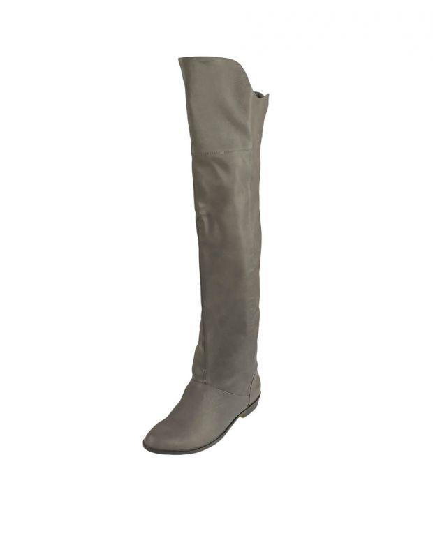 BESHKA High Boots Sage Grey - 2