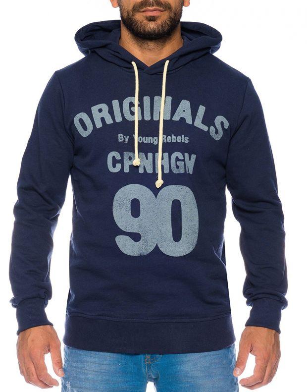 JACK&JONES Magic Sweatshirt Navy - 1