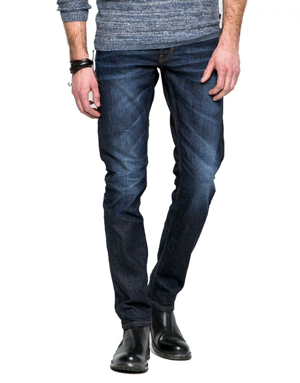 MUSTANG Oregon Tapered Jeans Indigo - 1