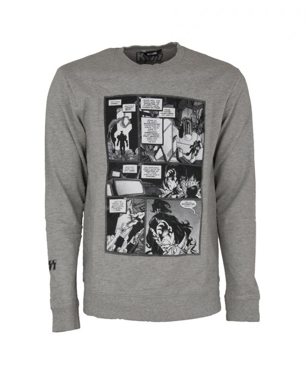 ONLY&SONS Kiss Printed Sweatshirt Grey 22008717/grey