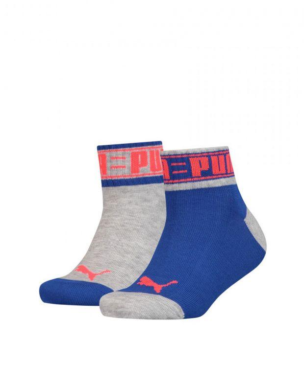 PUMA Kids Quater Soft Cotton Socks Sports BG