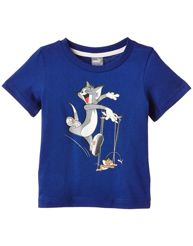 PUMA Fun Tom And Jerry Tee Blue 834270-15