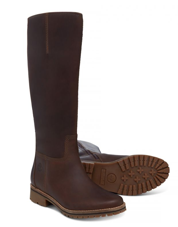 TIMBERLAND Main Hill Tall Boot Brown - 3