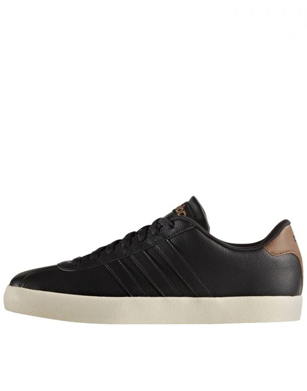 ADIDAS S VL Court Vulc Trainers Black - AW3929 - 1