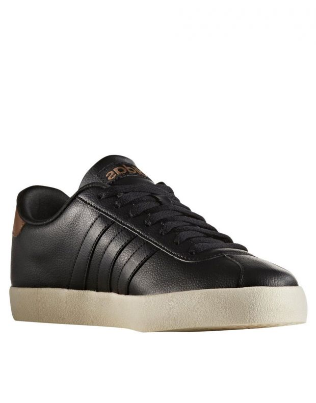 ADIDAS S VL Court Vulc Trainers Black - AW3929 - 2