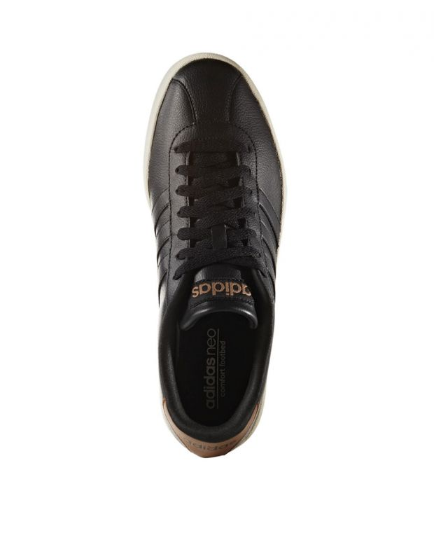 ADIDAS S VL Court Vulc Trainers Black - AW3929 - 3