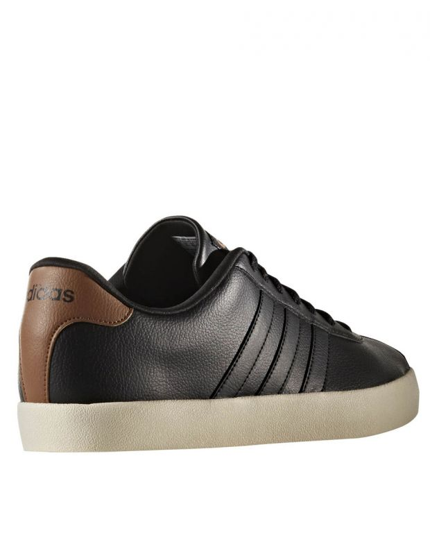 ADIDAS S VL Court Vulc Trainers Black - AW3929 - 4