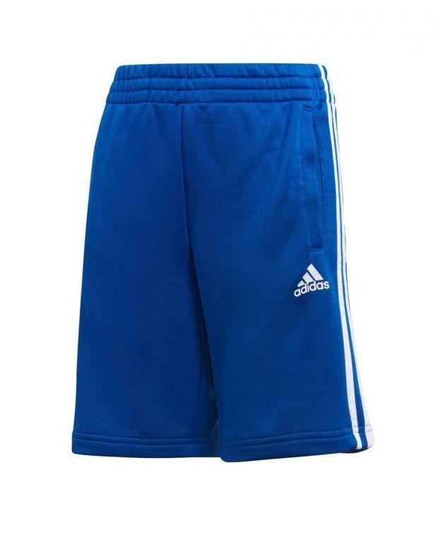 ADIDAS 3S Knit Shorts Blue - CF2657 - 1