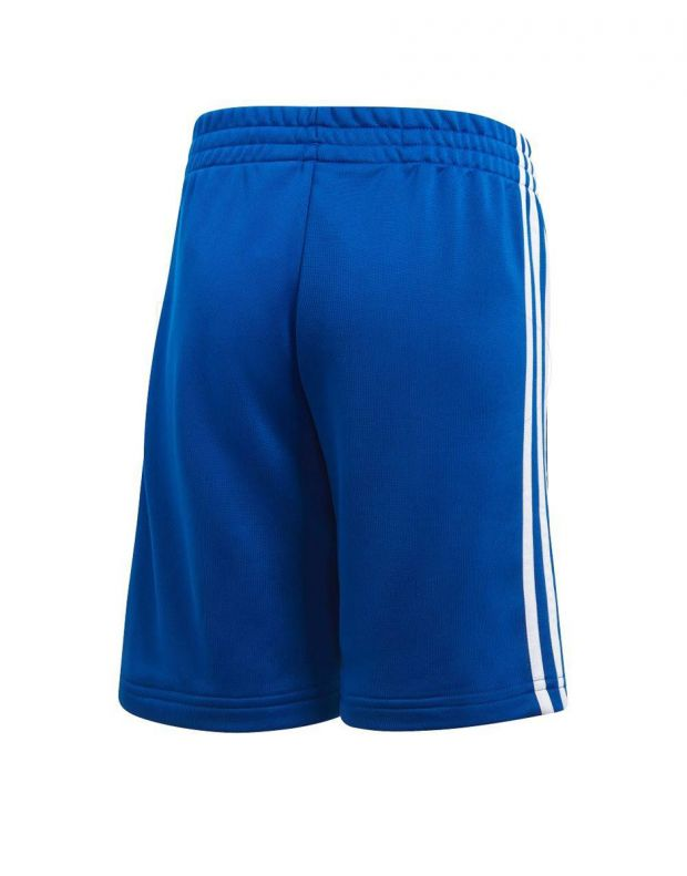 ADIDAS 3S Knit Shorts Blue - CF2657 - 2