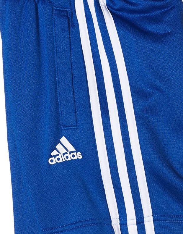 ADIDAS 3S Knit Shorts Blue - CF2657 - 3